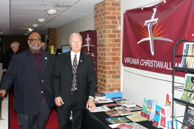 Pastor_Joe_Ellison_and_Don_Blake__Chairman_of_Virginia_Christian_Alliance_at_the_VCA_Display