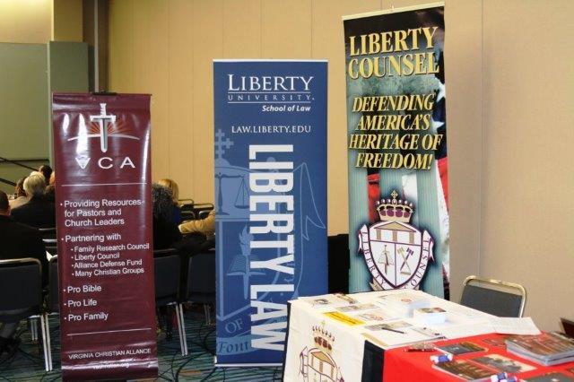 Liberty University table