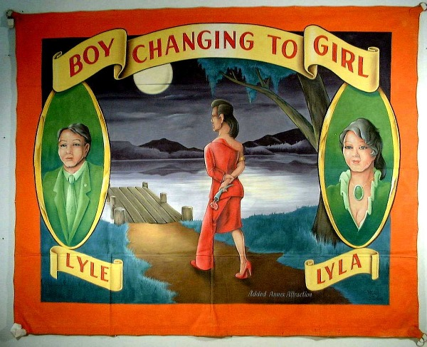 Boy Changing to a Girl