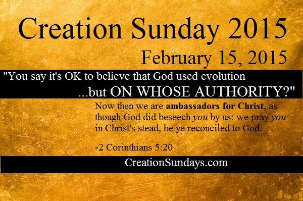 Creation Sunday 2015