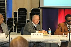 Panel 3 Rev. Dr. Owen Cardwell Don Blake Mercedies Harris