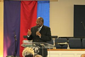 Pastor Harold Wilson