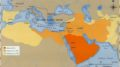 Map Growth of Islamic Caliphate