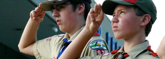 Boy Scouts No longer straight