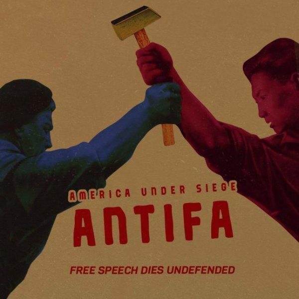 Antifa Free Speech Dies Undefended