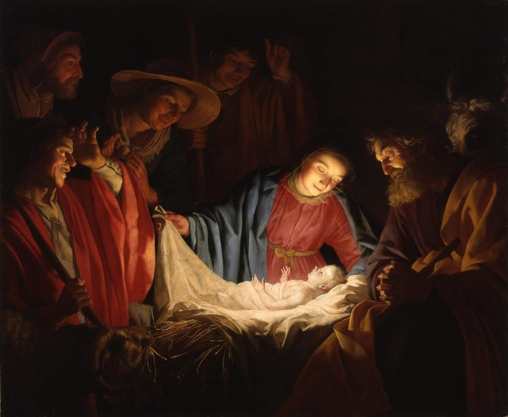 Gerard van Honthorst Adoration of the Shepherds 1622 1