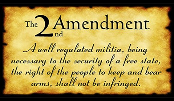 second amendment on parchment