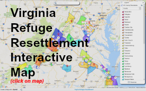 Virginia Refugee Resettlement Map 2016 300