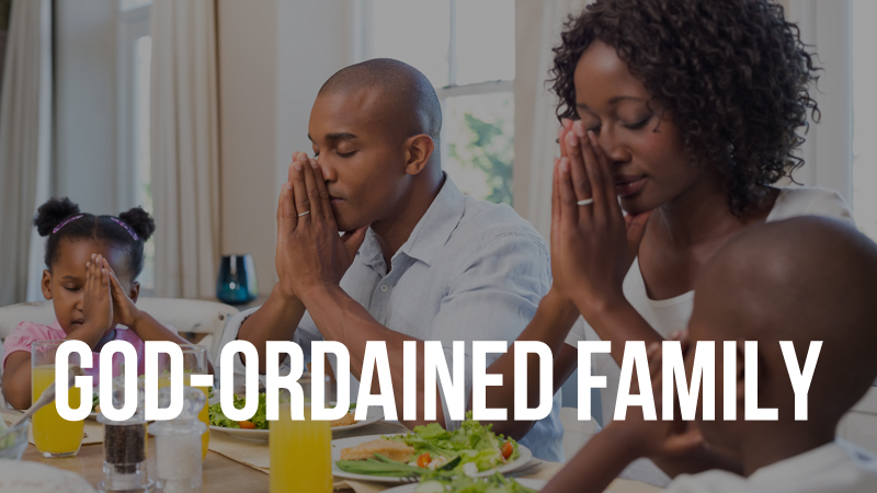 Promoting the God-Ordained Family Unit -