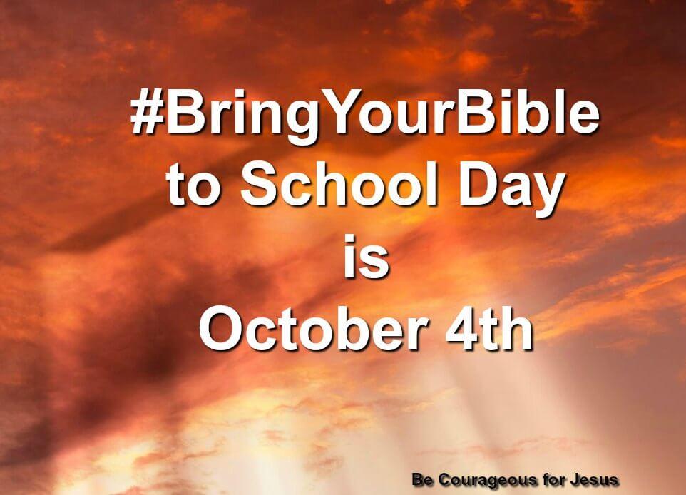 #bringyourbible