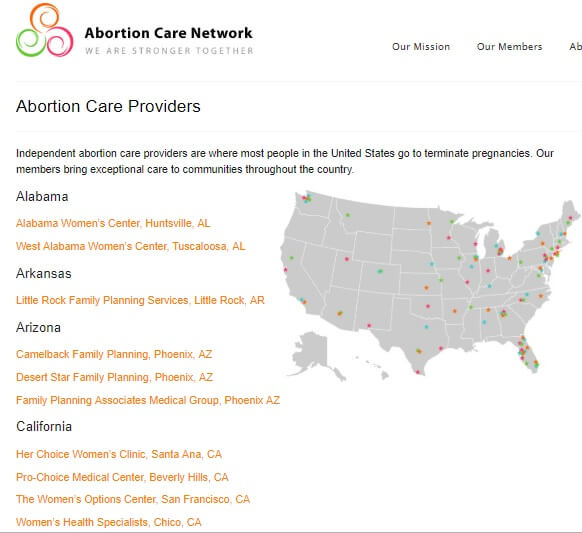 Abortion Care Providers