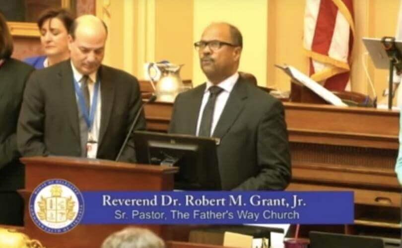 Rev Robert M Grant Jr